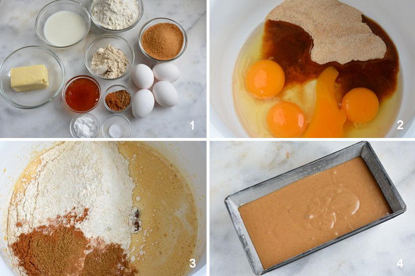 Cake pain d'épices Gewürzkuchen Rezept Zubereitung