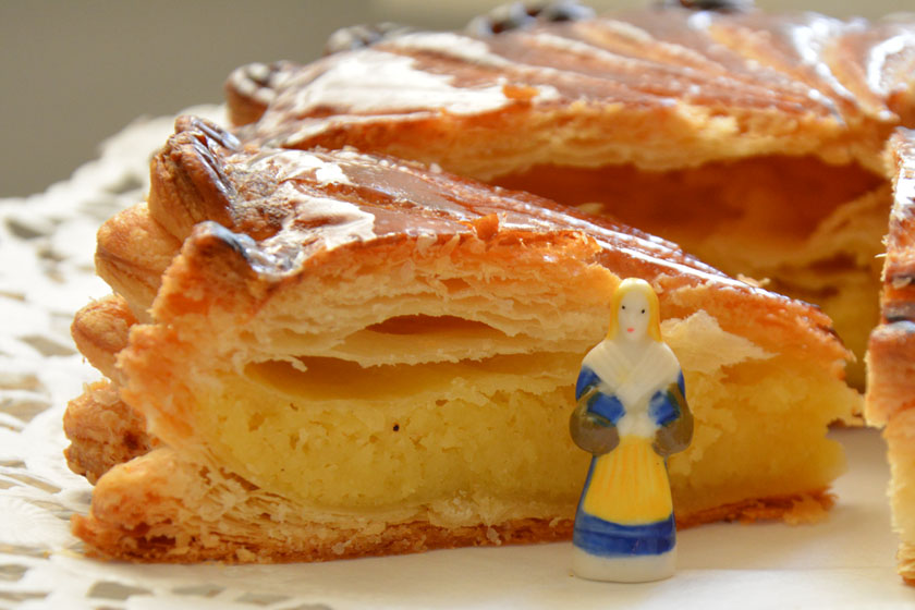 Galette des rois franz sischer dreik nigskuchen la for Decoration galette des rois frangipane