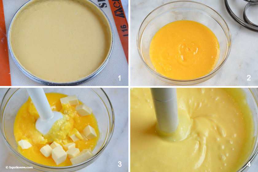 Tarte au citron Zubereitung