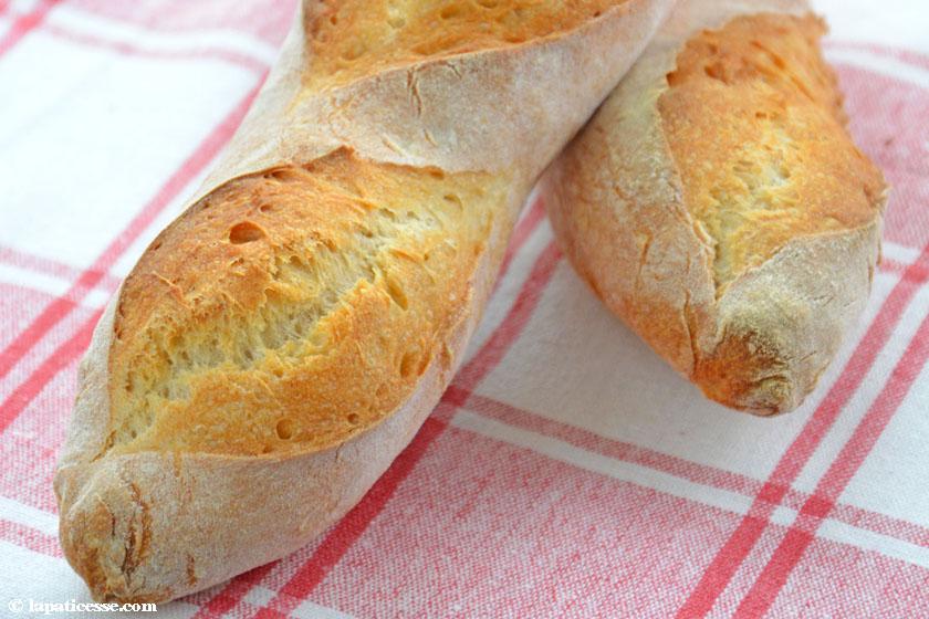 Baguette de tradition française Rezept Zubereitung