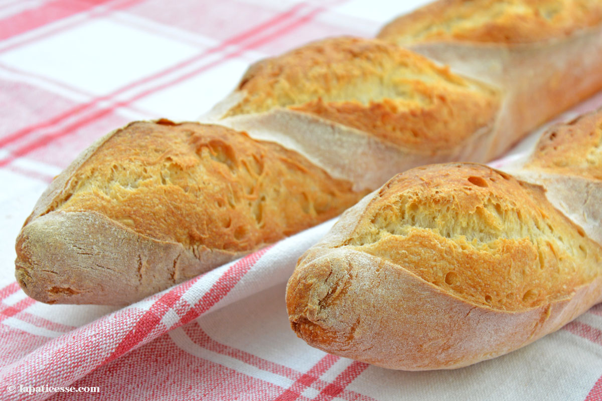 Baguette de tradition francaise Rezept