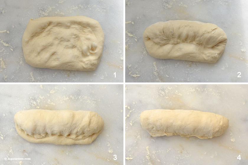 Baguette de tradition francaise Zubereitung 1-4