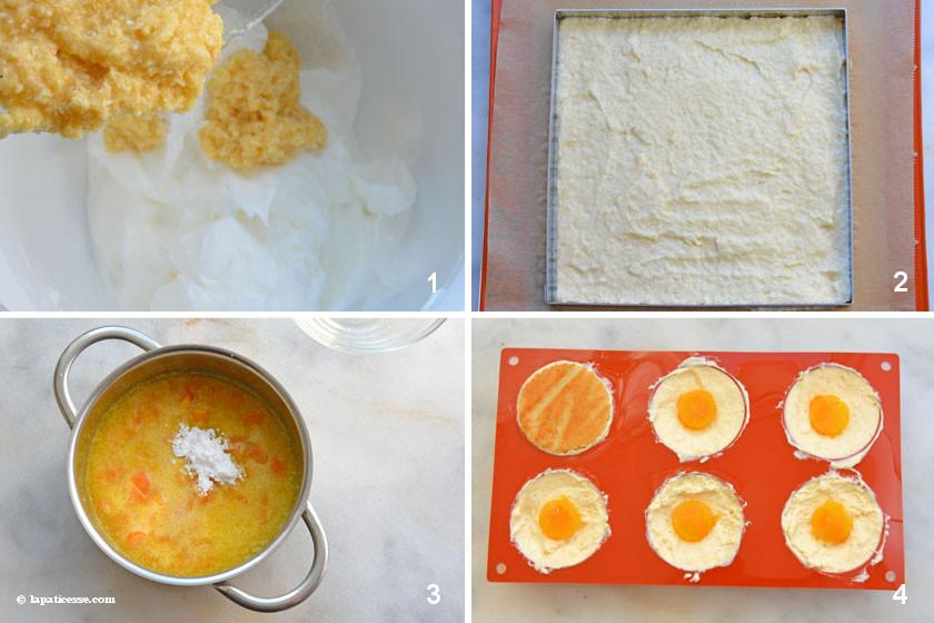 Coco à l'orange Kokos-Törtchen Zubereitung 2