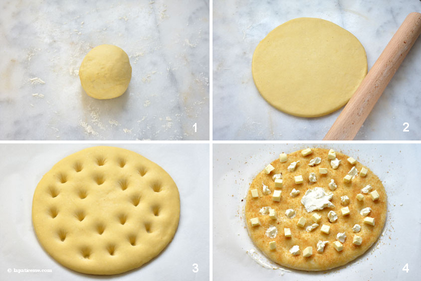 Tarte au sucrè Französischer Zuckerkuchen Zubereitung