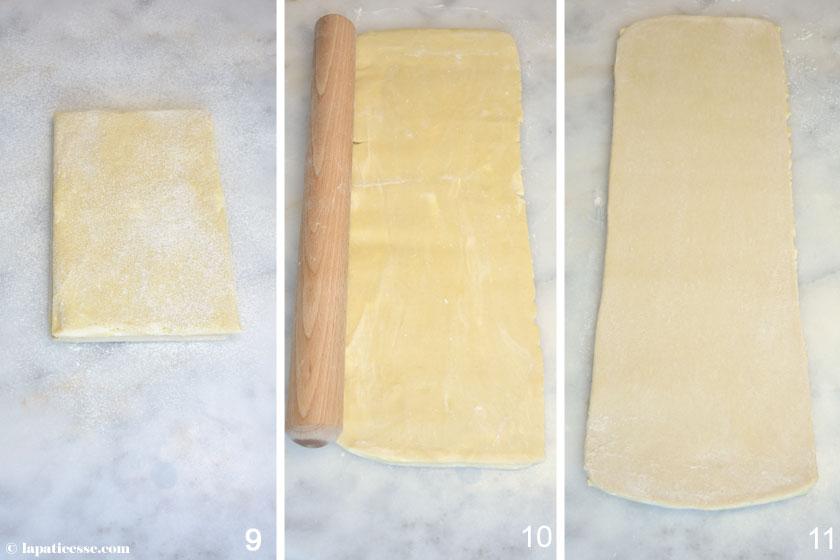 Pâte feuilletée inversée Feuilletage Blätterteig Rezept 3