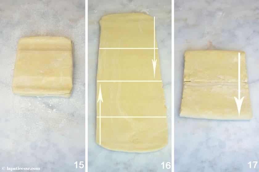 Pâte feuilletée inversée Feuilletage Blätterteig Rezept 5
