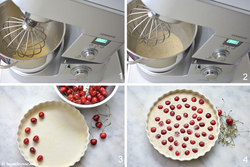 Clafoutis aux cerises Rezept Kirschauflauf Zubereitung