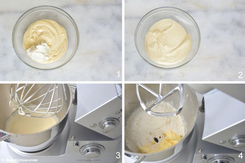 Himbeer-Tartelettes Rezept Zubereitung Crème pâtissière légère fromage blanc