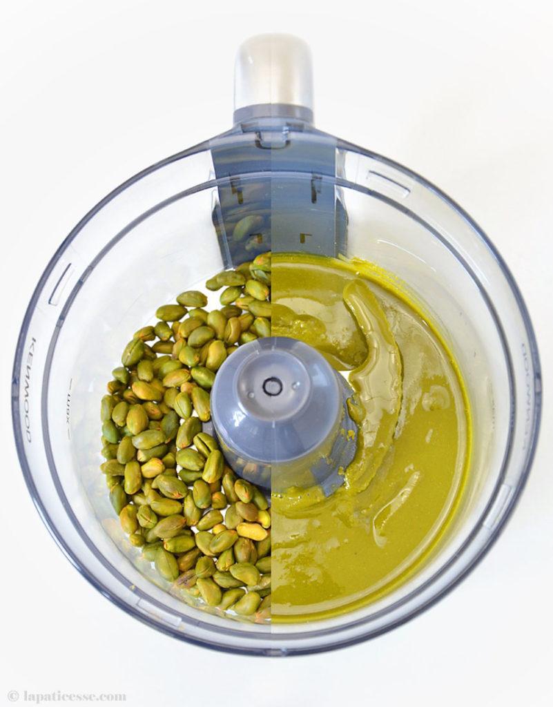 Pâte de pistache Pistazienpaste Rezept Kenwood
