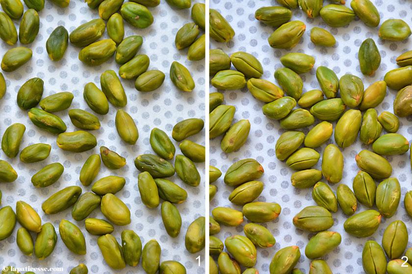 Pâte de pistache Pistazienpaste Rezept aromaschonend Zubereitung