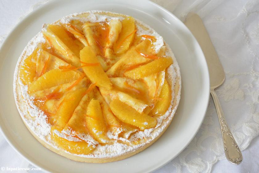Tarte Crêpes Suzette Rezept Orangen