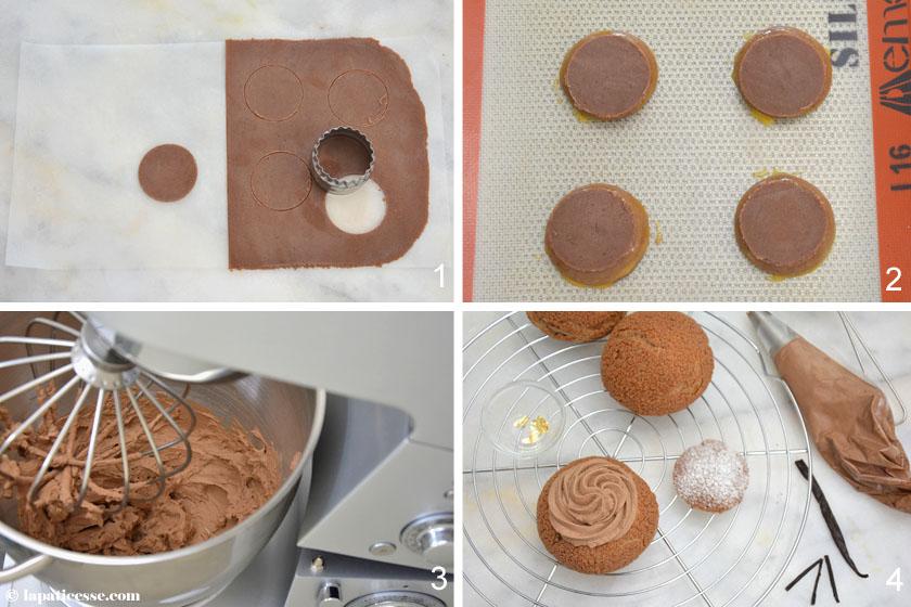 Choux tout chocolat Rezept Schokoladen Windbeutel Zubereitung