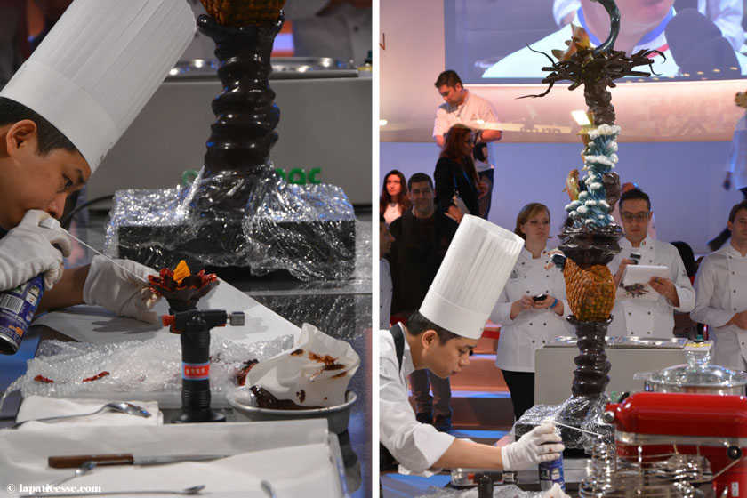 World Chocolate Masters 2015 Chia Feng Tsai Taiwan