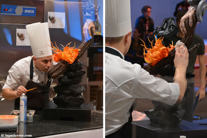 World Chocolate Masters 2015 Lukasz Aniol Poland