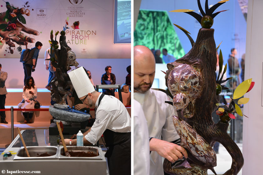 World Chocolate Masters 2015 Michael Cotard Canada