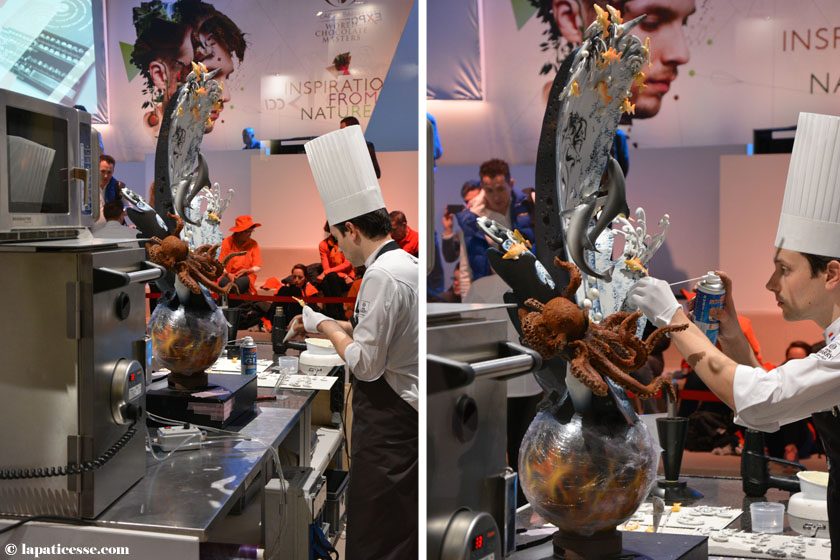 World Chocolate Masters 2015 Ramon Huigsloot The Netherlands