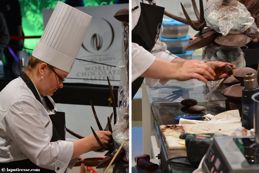World Chocolate Masters 2015 Sabine Dubenkropp Germany
