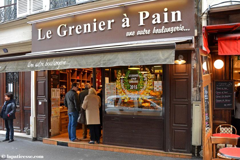 Baguette de tradition française Le Grenier à Pain Rezept