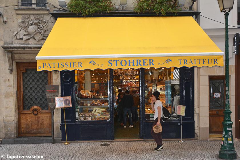 Pâtisserie Stohrer, 51 Rue Montorgueil, 75002 Paris Geöffnet Montag bis Sonntag von 07:00 (So 07:30) bis 20:30