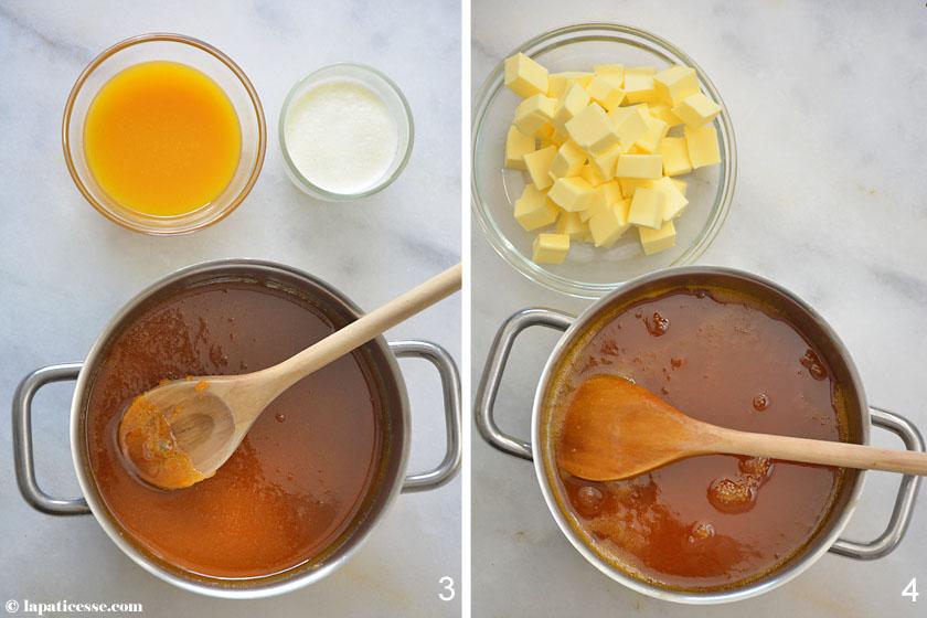 Tarte caramel des tropiques Tropische Karamell-Tarte Zubereitung_3-4
