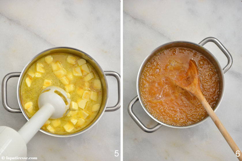 Tarte caramel des tropiques Tropische Karamell-Tarte Zubereitung_5-6