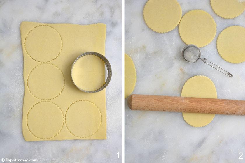 Chaussons aux pommes französische Apfeltaschen Rezept Zubereitung 1