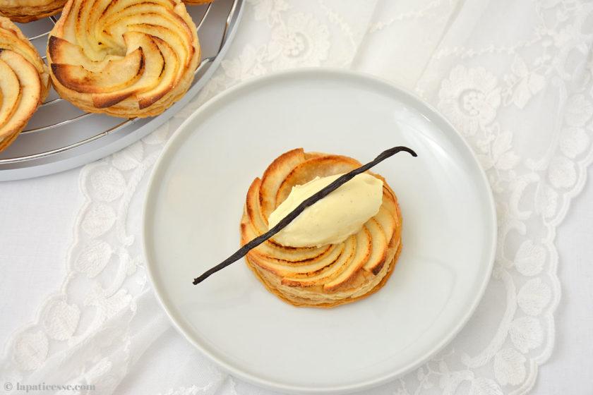 Tarte fine aux pommes Feine Apfeltarte Rezept