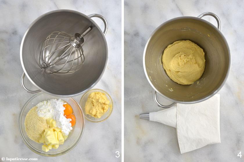 Bostock Rezept Brioche Mousseline Frangipane überbacken Zubereitung 3