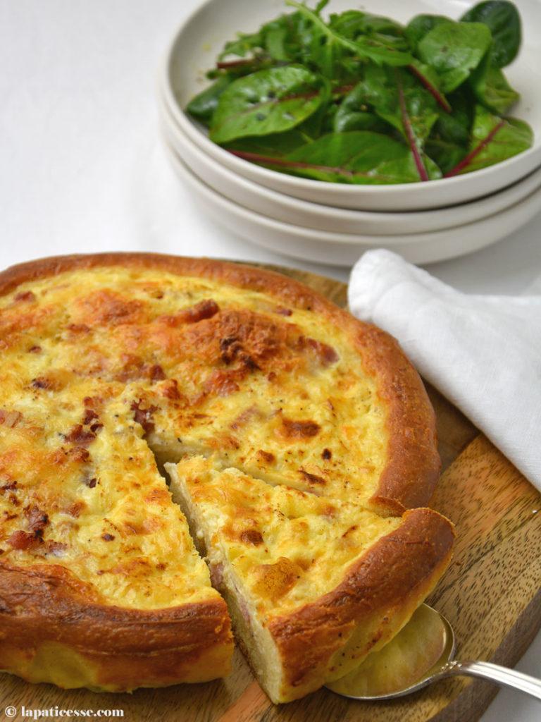 Briche Lorraine Rezept Hybrid Food Brioche Quiche Teig