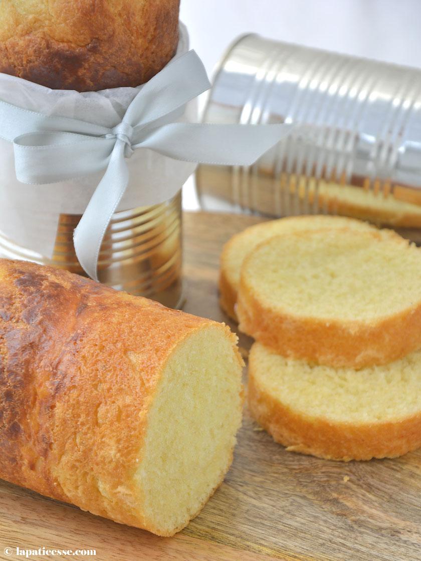 Brioche mousseline Rezept Feine Butter Brioche Zylinder
