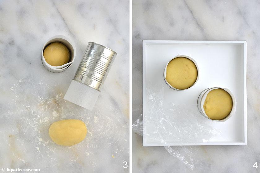 Brioche mousseline Rezept Zubereitung Teig Butter Brioche
