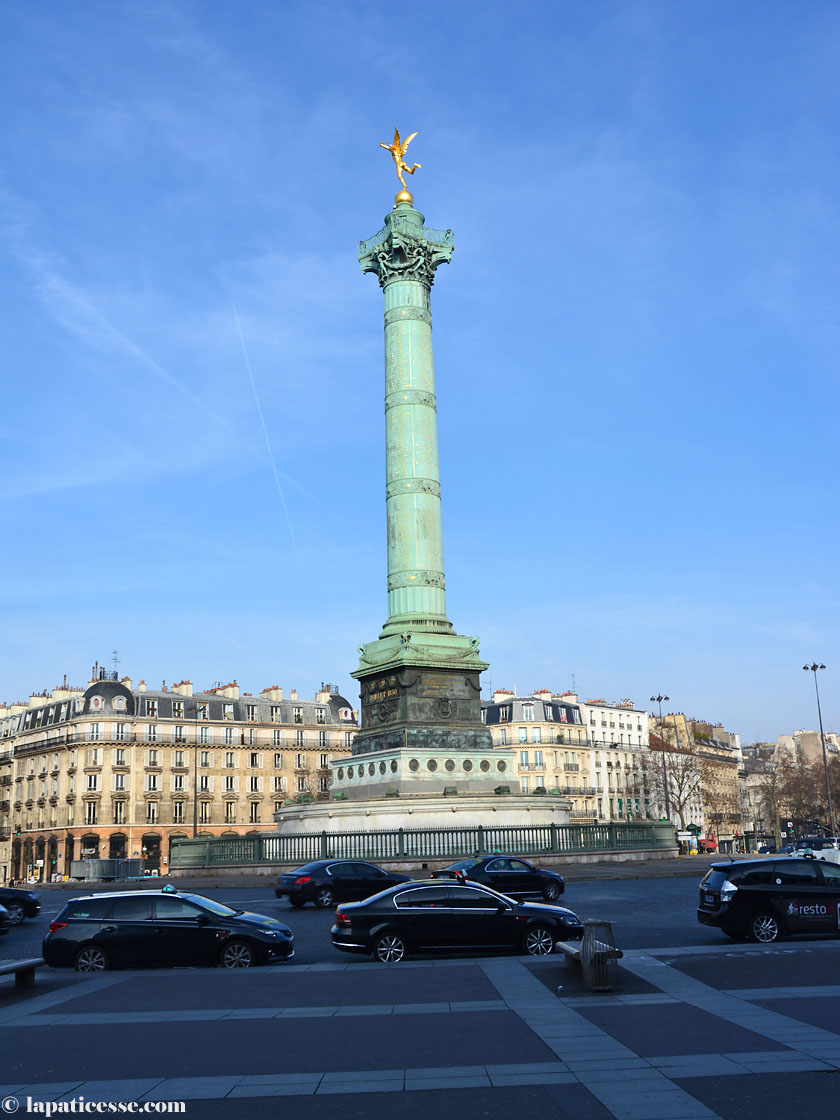 Place de la Bastille Paris