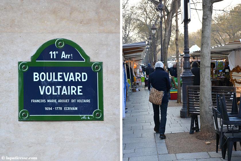 Oberkampf Paris Boulevard Voltaire Flohmarkt