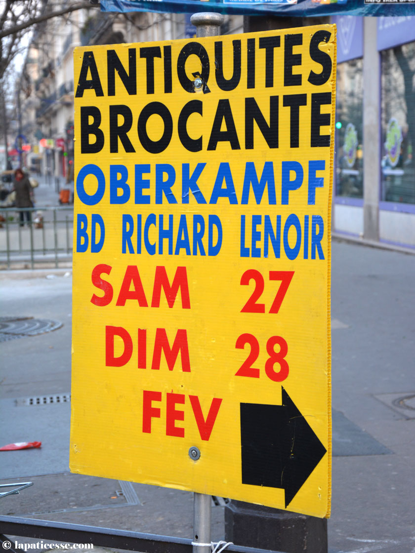 Oberkampf Paris Flohmarkt