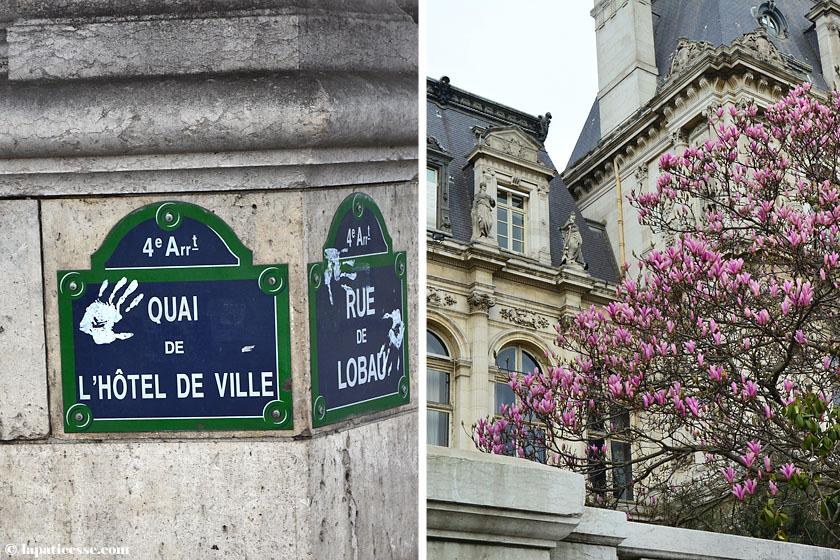 Quai de l'Hôtel de Ville Paris