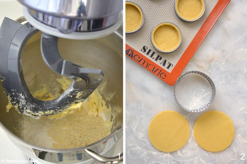 Tartelette La Réunion Pâte sucrée Rezept Zubereitung