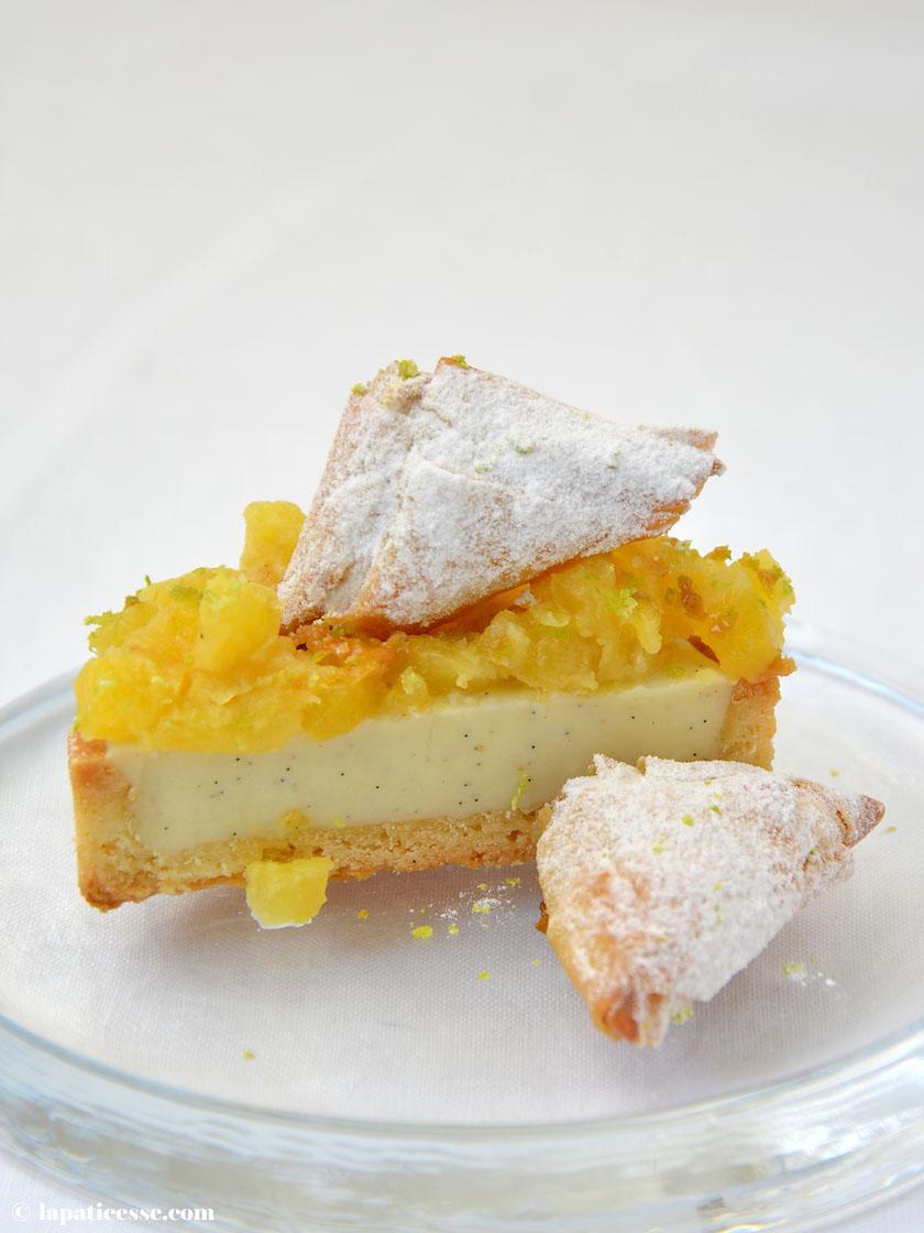 Tartelette La Réunion Rezept Ananas Vanille Galabé Zucker Sucre