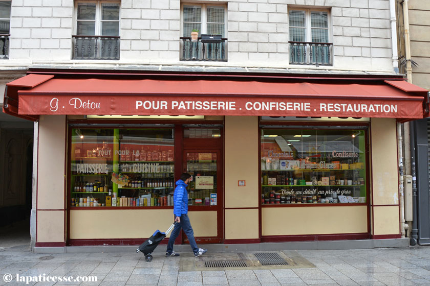 G Detou Paris Patisserie Bedarf Confiserie Restauration Shopping Tipp