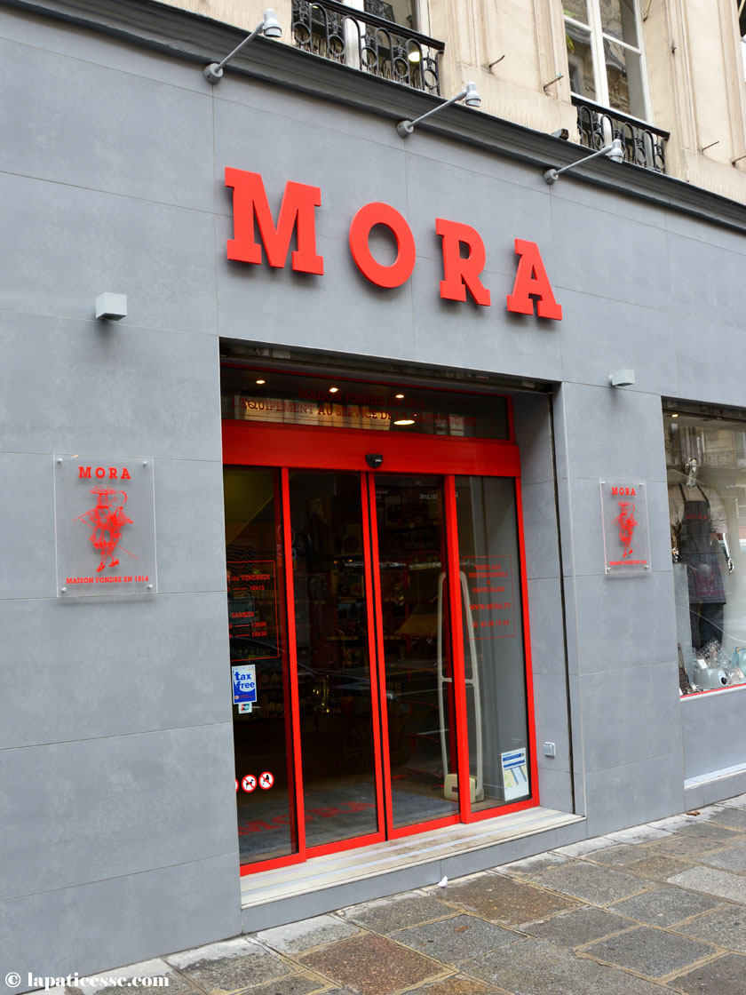 Mora Paris Patisserie Cuisine Bedarf Shopping Tipp