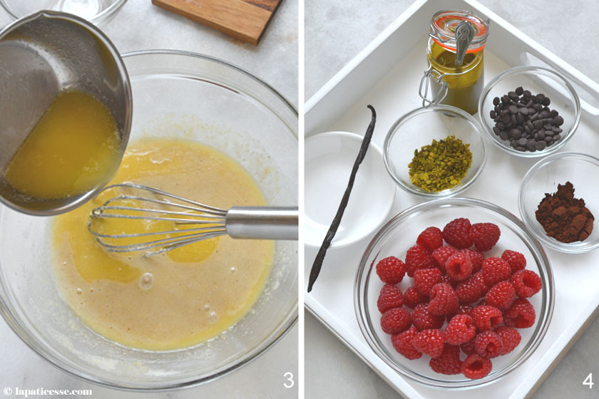 Pomponettes Rezept Zubereitung Friands