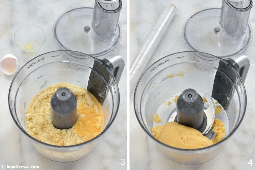 Tarte Sissi Ladurée Rezept Zubereitung Pâte sablée 2 Kenwood