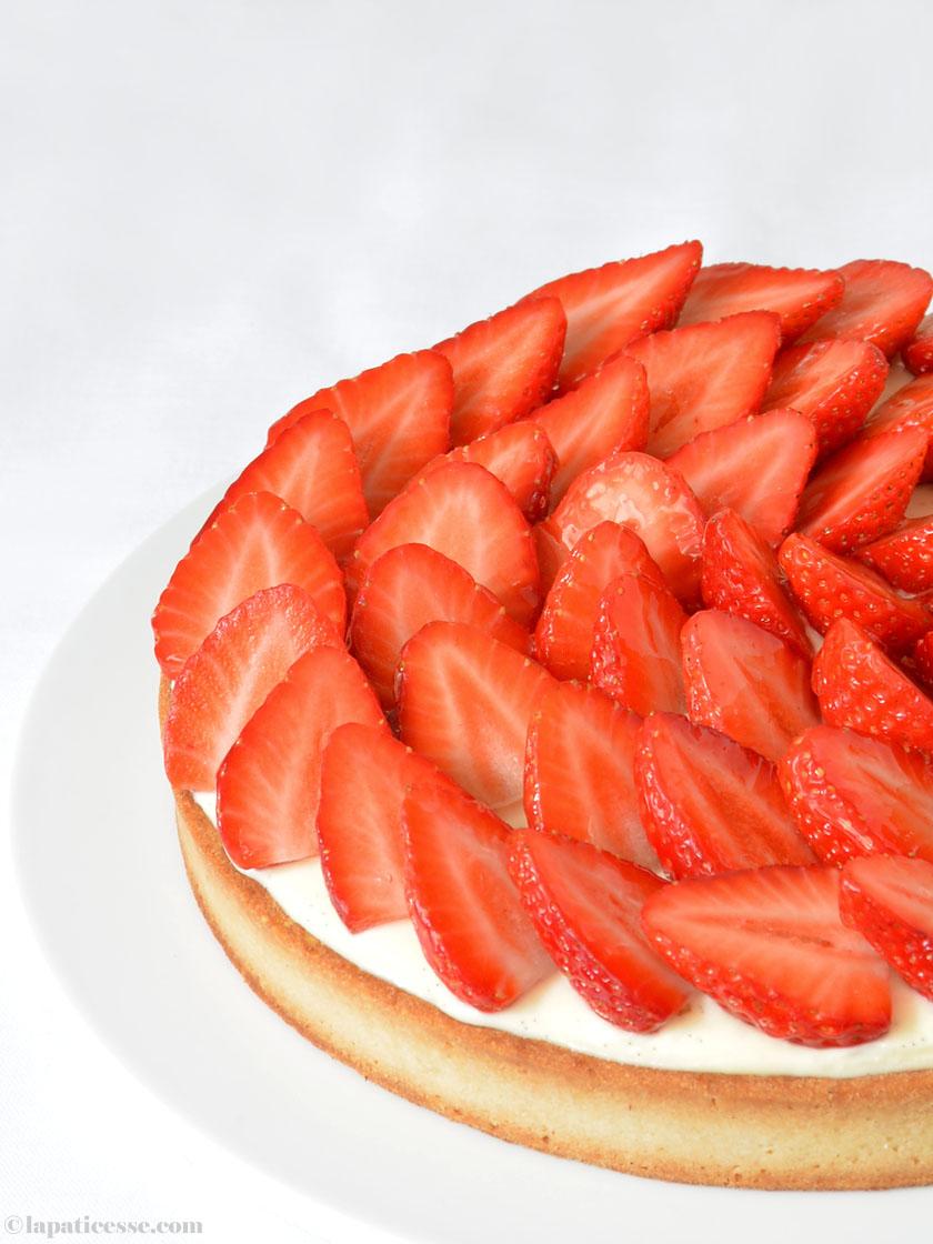 Französische Erdbeertarte mit Mascarpone Patisserie Rezept