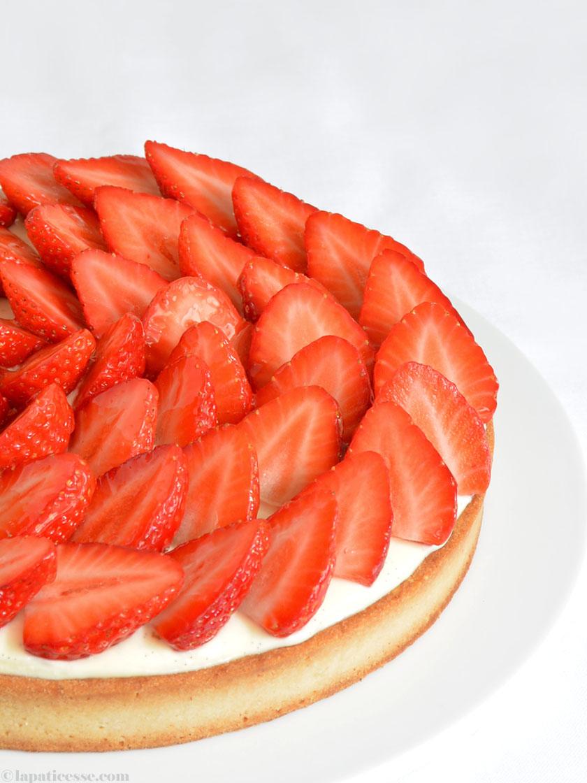 Französische Erdbeertarte mit Mascarpone Patisserie Blog Rezept