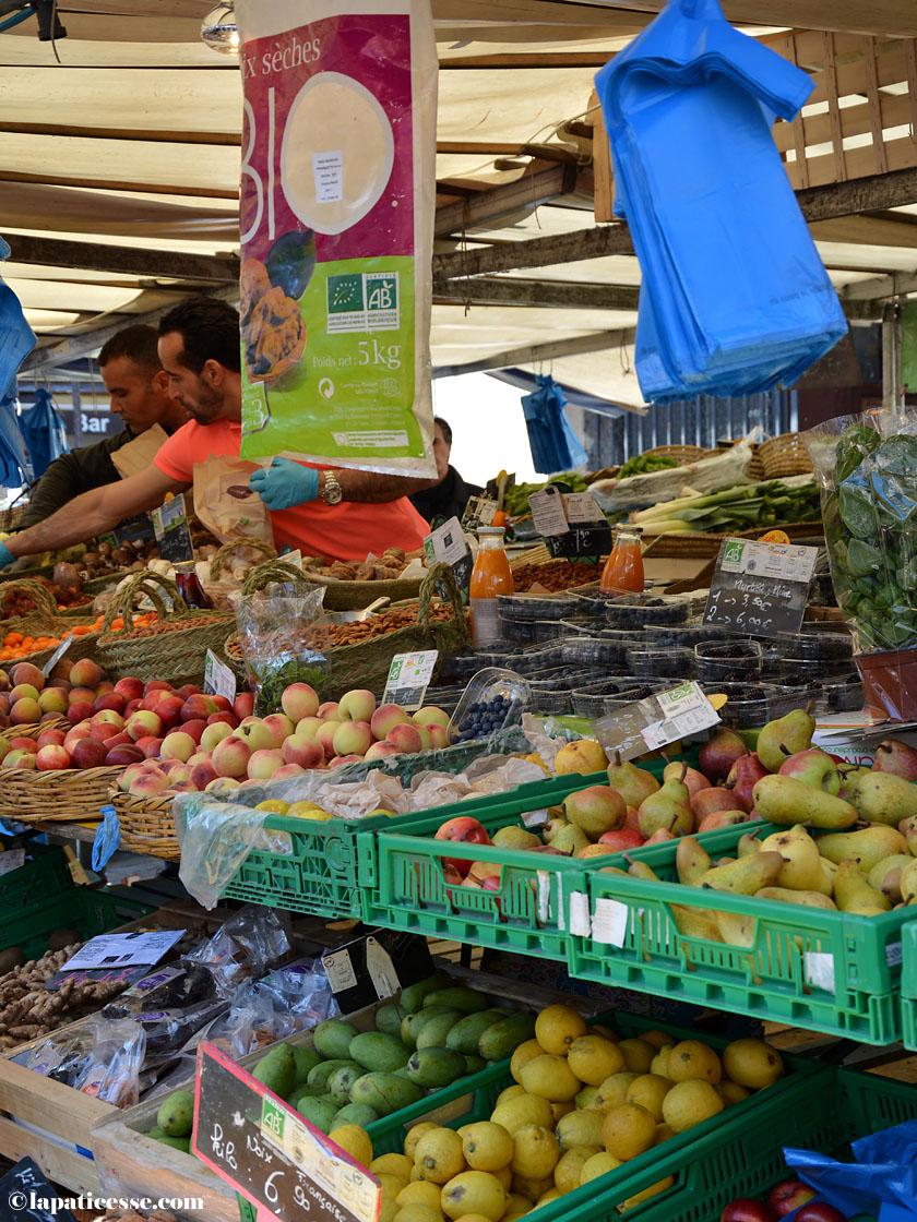 Paris Marche Beauvau Place d'Aligre Shopping Tipp Märkte Obst