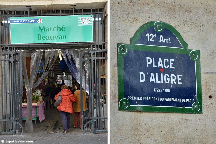Paris Marche Beauvau Place d'Aligre Shopping Tipp Märkte