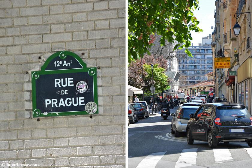 Paris Marche d'Aligre Rue de Prague Rue Théophile Roussel
