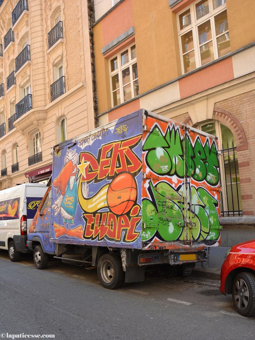 Paris Streetart Graffiti Marche d'Aligre