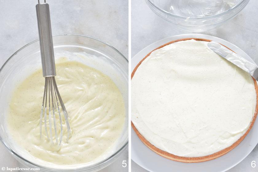 Tarte aux fraises à la crème mascarpone Erdbeertarte mit Mascarpone Rezept Zubereitung 3
