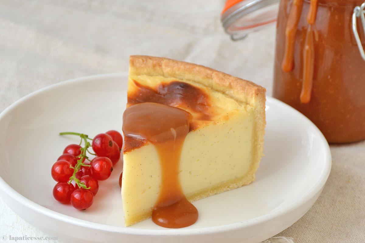 Flan pâtissier Rezept Flan parisien Französischer Puddingkuchen