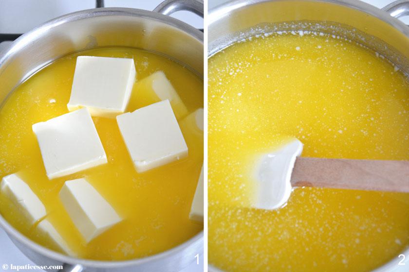 Beurre noisette Nussbutter Rezept braune Butter Zubereitung 1